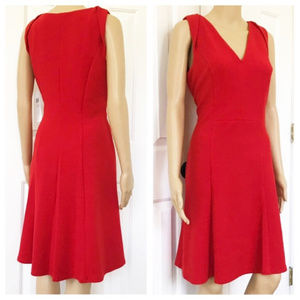 NWT London Times Sleeveless fit and flare dress